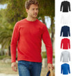 Herren Mann Langarm T-Shirt Value Valueweight Longsleeve Shirt Fruit of the loom