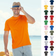 10 x Herren Mann T-Shirt Shirts Fruit of the loom Valueweight Value Größe S-5XL