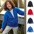 KINDER KIDS PREMIUM 70/30 SWEATJACKE SWEAT JACKE FRUIT OF THE LOOM 4 FARBEN
