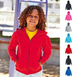 Kinder Kids Sweatjacke Sweatshirt Sweat Fruit of the loom Kapuzenjacke 80/20