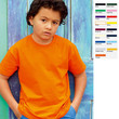 Kinder Kids Junge Mädchen Shirt T-Shirt Fruit of the loom Value Valueweight