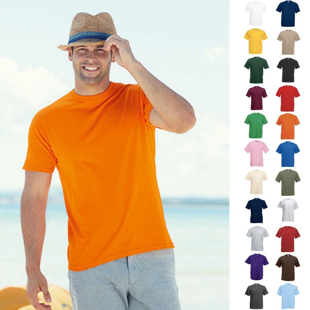 promo code 8a423 bcec8 5er Sets 5x Herren T-Shirts Value Fruit of the loom S M L XL ...