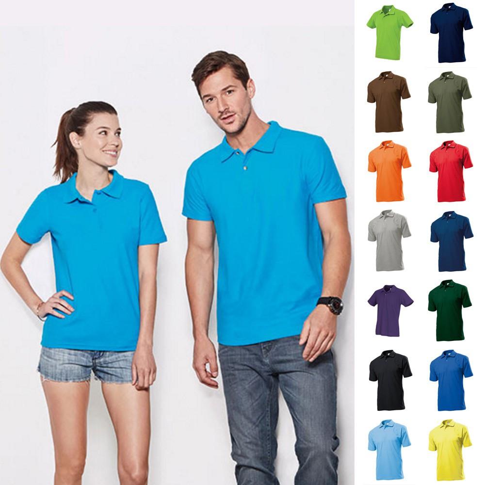 sports shoes 98d97 027b5 Herren Mann Poloshirt Polo Polohemd Shirt Pique Stedman ...