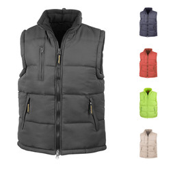 HOODED KAPUZEN BODYWARMER WESTE RESULT XXXL 3XL