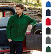 1a Herren Fleecejacke Fruit of the loom Pullover Pulli Sweatjacke Fleece Jacke