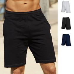 Herren Kurze Hose Sport Bermuda Fruit of the loom Jogginghose Lightweight Shorts