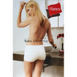 LADY LADIES HANES DAMENSLIP DAMENSHORTS SHORT STRETCH COTTON SHORTS