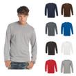 Herren Mann Premium T-Shirt B&C Langarm Longsleeve Long Sleeve Shirt Exact 190