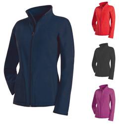 Stedman Damen Lady Active Fleecejacke Fleece Sweatshirt Sweat Pullover Jacke